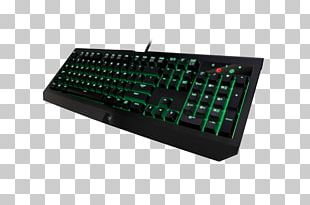 Computer Keyboard Razer BlackWidow Ultimate 2016 Razer BlackWidow Ultimate Stealth (2016) Gaming Keypad Razer Inc. PNG