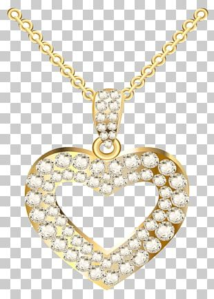 Necklace Heart Jewellery Pendant PNG