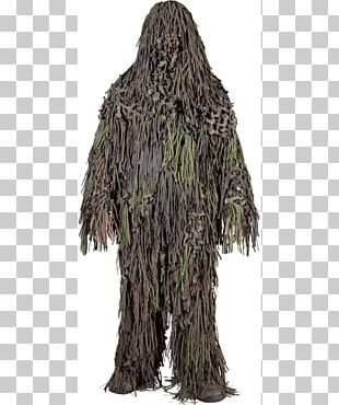 Ghillie Suits Military Camouflage U.S. Woodland Clothing PNG