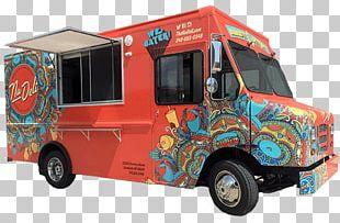 Food Truck Van Cafe Car PNG