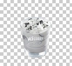 McDonald's McFlurry With Oreo Cookies Sundae McDonald's #1 Store Museum Ice Cream PNG