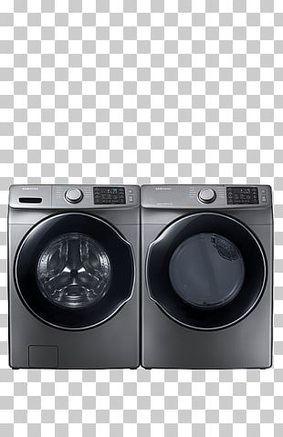 Combo Washer Dryer Clothes Dryer Washing Machines Samsung Laundry PNG