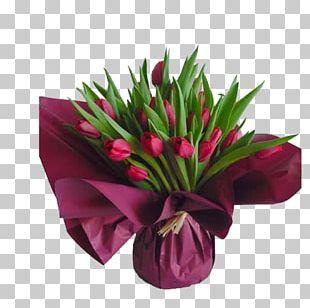 Floral Design Tulip Flower Bouquet Cut Flowers PNG
