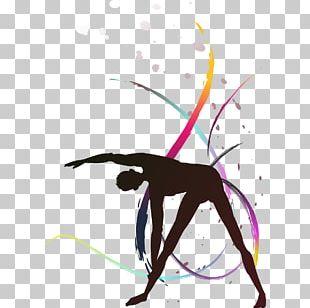 Rhythmic Gymnastics Computer File PNG