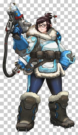 Characters Of Overwatch Mei D.Va Tracer PNG