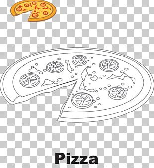 Pizza Drawing Food Coloring Book Pepperoni PNG