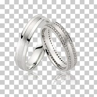 Wedding Ring Silver Platinum Gold PNG