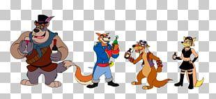 Baloo Character Animated Cartoon Animated Series PNG
