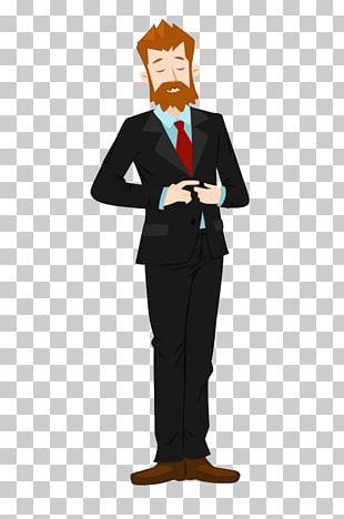 Cartoon Man Illustration PNG