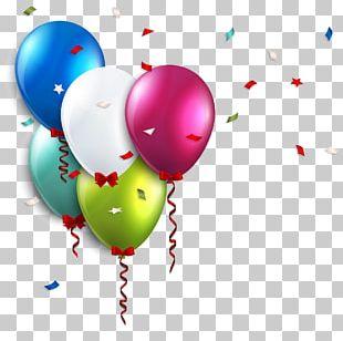 Birthday Balloon Wedding Invitation PNG