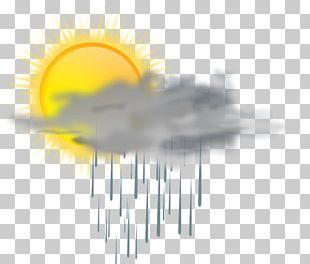 Rain Cloud Weather PNG