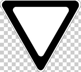 Yield Sign Traffic Sign Stop Sign PNG