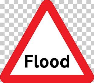 Flood Warning Sign Traffic Sign PNG