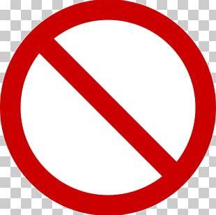 No Symbol Stop Sign PNG
