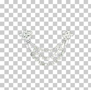 Necklace Pearl Silver Body Piercing Jewellery Pattern PNG