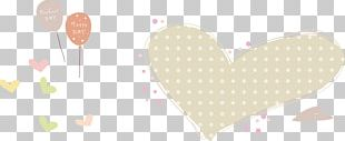 Paper Heart Petal Valentines Day Pattern PNG