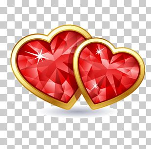 Heart Valentine's Day Stock Photography PNG