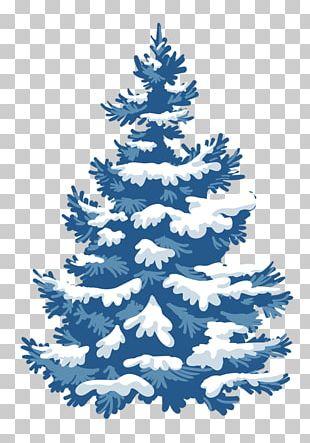 Christmas Card Snow Christmas Tree PNG