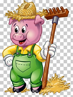 Big Bad Wolf The Three Little Pigs Fairy Tale Child PNG