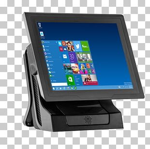 Point Of Sale Sales Cash Register Touchscreen Payment Terminal PNG