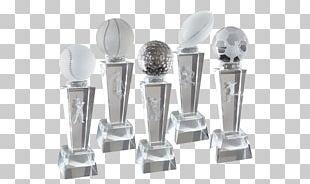 Trophy Award Glass Commemorative Plaque Medal PNG