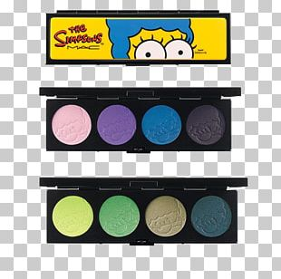 Marge Simpson MAC Cosmetics Eye Shadow Color PNG