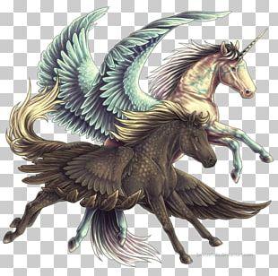 Horse Legendary Creature Mythology Unicorn Dragon PNG