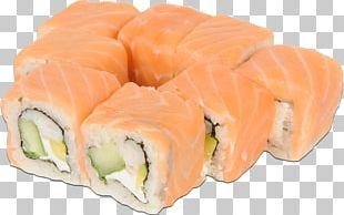 California Roll Sashimi Smoked Salmon Sushi PNG