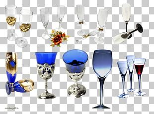 Champagne Wine Glass Cup PNG
