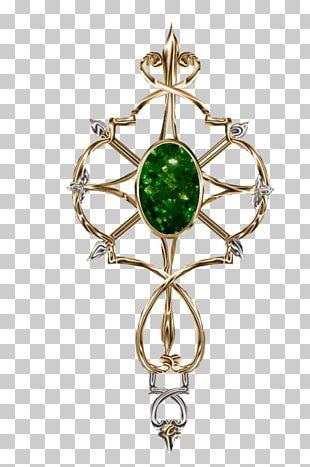 Earring Emerald Body Jewellery Brooch Charms & Pendants PNG