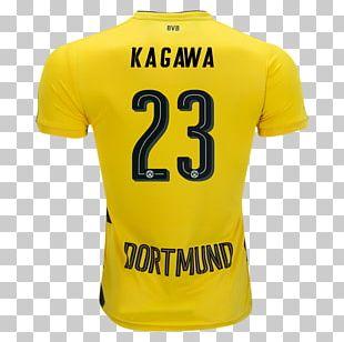 Borussia Dortmund T-shirt Sports Fan Jersey Football PNG