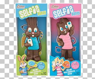 Easter Bunny Chocolate Bunny White Chocolate Candy PNG
