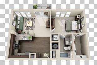 Studio Apartment House Plan Basement Apartment PNG