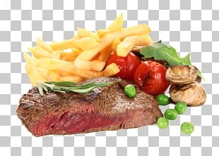 Beefsteak French Fries Barbecue Grill Steak Frites Meat PNG