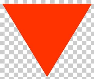 Red Triangle Symbol Logo United States PNG