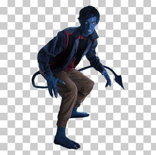 Nightcrawler Beast Mystique Professor X Jubilee PNG