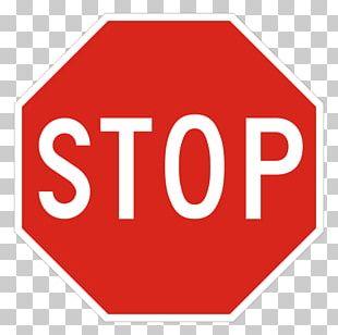 Stop Sign Traffic Sign Signage Logo PNG