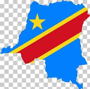 Flag Of The Democratic Republic Of The Congo Congo Free State Map PNG