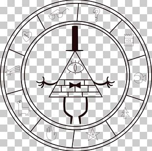 Station Clock Bill Cipher Industrialist In The Dining Room PNG