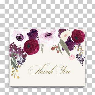 Wedding Invitation Flower Floral Design Save The Date PNG