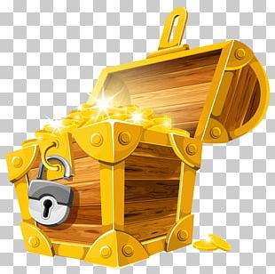 Open Chest With Lock PNG