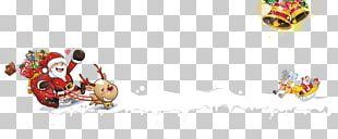 Santa Claus Christmas White Poster PNG