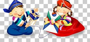 South Korea Korean New Year Kite PNG