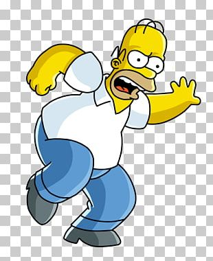 The Simpsons Game Homer Simpson Barney Gumble Bart Simpson Maggie Simpson PNG
