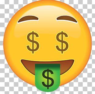 Emoji Money Smiley Face Sticker PNG
