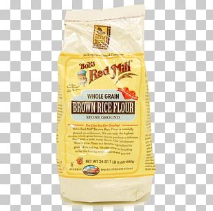 Rice Flour Bob's Red Mill Brown Rice Whole Grain PNG