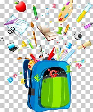 School Timetable Backpack Bag PNG