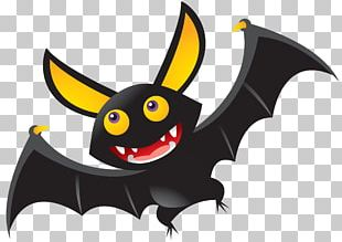 Bat Illustration Halloween PNG