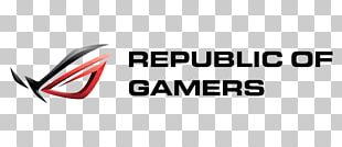 Laptop Republic Of Gamers ASUS Graphics Cards & Video Adapters Logo PNG