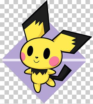 Pokémon Sun And Moon Pichu Fan Art PNG